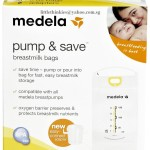 Medela Pump and Save Breastmilk Bags with Adapter