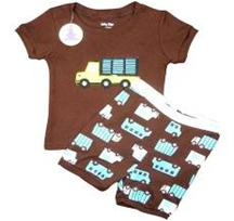 Short Sleeve Set - Lorry