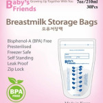 Baby's Friends Milk Bags