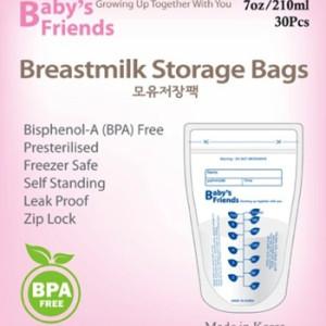 Baby's Friends Milk Bags