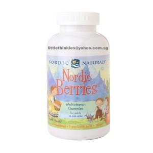 Nordic Naturals Nordic Berries Multivitamin Gummies 200ea