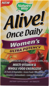 Nature's Way Alive! Multivitamin Once Daily Women Tablets 60ea