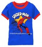 Spiderman Web Blue
